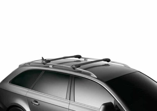 "Thule WingBar Edge (Railing) Length ""S+M"" Black 9584B"