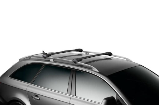 "Thule WingBar Edge (Fixpoint / Flush Rail) Length ""S"" Black 9591B"