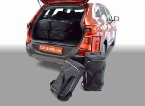 Renault Kadjar SUV - 2015 en verder with adjustable boot floor in lowest position - Car-bags tassen R10701S