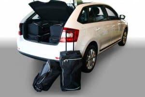 Skoda Rapid Spaceback (NH1) 5d - 2013 en verder  - Car-bags tassen S50701S
