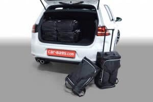 Volkswagen Golf VII GTE 5d - 2014 en verder with 3rd row of seats folded down - Car-bags tassen V11801S