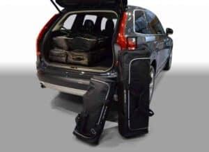 Volvo XC90 II SUV - 2015 en verder version with low boot floor (with tire repair set) - Car-bags tassen V21201S