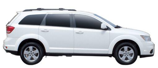 Whispbar Dakdragers (Black) Fiat Freemont 5dr SUV met Dakrails bouwjaar 2012 - e.v.|Complete set Dakdragers