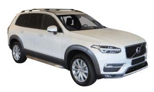 Whispbar Dakdragers Volvo XC90 5dr SUV met Dakrails bouwjaar 2015 - e.v.|Complete set dakdragers