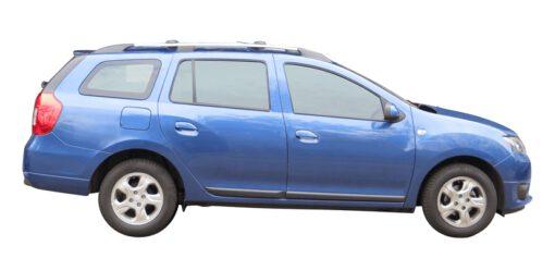 Whispbar Dakdragers (Black) Dacia Logan MCV 5dr Estate met Dakrails bouwjaar 2013 - e.v.|Complete set Dakdragers