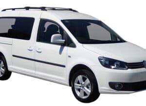 Whispbar Dakdragers (Zilver) Volkswagen Caddy Maxi 5dr MPV met Dakrails bouwjaar 2015 - e.v.|Complete set Dakdragers