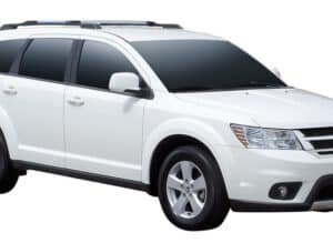 Whispbar Dakdragers (Zilver) Fiat Freemont 5dr SUV met Dakrails bouwjaar 2012 - e.v.|Complete set Dakdragers