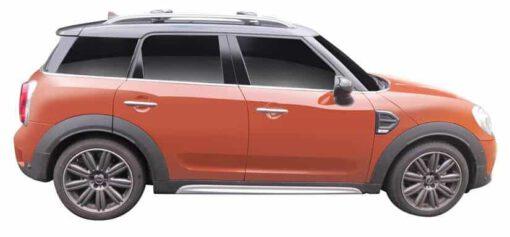 Whispbar Dakdragers (Black) Mini Countryman 5dr SUV met Dakrails bouwjaar 2017 - e.v. Complete set Dakdragers
