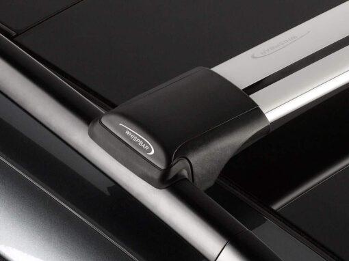 Whispbar Dakdragers (Zilver) Nissan Qashqai 5dr SUV met Dakrails bouwjaar 2017-e.v.|Complete set dakdragers