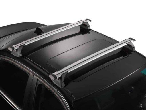 Whispbar Dakdragers (Zilver) Opel Mokka X 5dr SUV met Geintegreerde rails bouwjaar 2016-e.v.|Complete set dakdragers