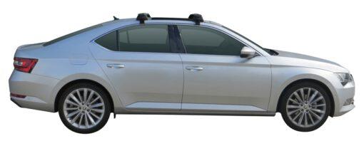 Whispbar Dakdragers (Zilver) Skoda Superb 5dr Hatch met Glad dak bouwjaar 2015 - e.v.|Complete set dakdragers