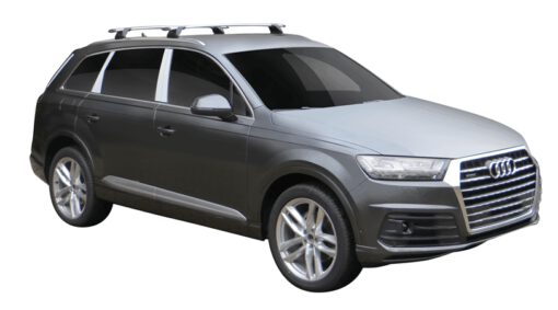 Whispbar Dakdragers (Black) Audi Q7/SQ7 5dr SUV met Vaste bevestigingspunten bouwjaar 2015 - e.v.|Complete set dakdragers