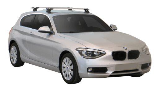 Whispbar Dakdragers (Black) BMW 1 Series F21 3dr Hatch met Vaste bevestigingspunten bouwjaar 2012 - e.v.|Complete set dakdragers