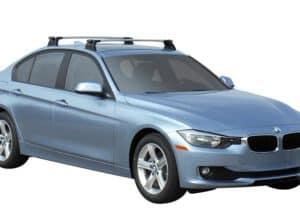 Whispbar Dakdragers (Black) BMW 3 Series 4dr Sedan met Vaste bevestigingspunten bouwjaar 2015 - e.v.|Complete set dakdragers