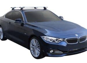 Whispbar Dakdragers (Black) BMW 4 Series Coupe 2dr Coupe met Vaste bevestigingspunten bouwjaar 2017 - e.v.|Complete set dakdragers