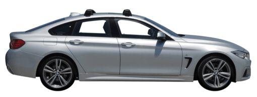 Whispbar Dakdragers (Black) BMW 4 Series Gran Coupe 4dr Coupe met Vaste bevestigingspunten bouwjaar 2014 - 2017|Complete set dakdragers