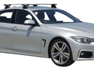 Whispbar Dakdragers (Black) BMW 4 Series Gran Coupe 4dr Coupe met Vaste bevestigingspunten bouwjaar 2017 - e.v.|Complete set dakdragers