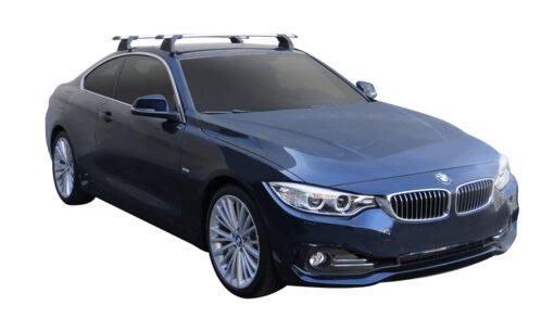 Whispbar Dakdragers (Black) BMW 4 Series 2dr Coupe met Vaste bevestigingspunten bouwjaar 2014 - 2017|Complete set dakdragers