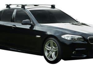 Whispbar Dakdragers (Black) BMW 5 Series F10 4dr Sedan met Vaste bevestigingspunten bouwjaar 2013 - 2017|Complete set dakdragers