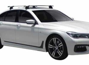 Whispbar Dakdragers (Black) BMW 7 Series G11 4dr Sedan met Vaste bevestigingspunten bouwjaar 2016 - e.v.|Complete set dakdragers