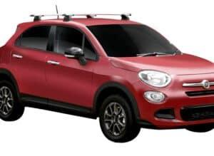 Whispbar Dakdragers (Black) Fiat 500X 5dr Hatch met Vaste bevestigingspunten bouwjaar 2015 - e.v.|Complete set dakdragers