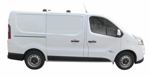 Whispbar Dakdragers (Black) Fiat Talento (2 Bar) 4dr Van met Vaste bevestigingspunten bouwjaar 2016 - e.v.|Complete set dakdragers