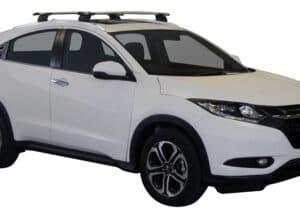 Whispbar Dakdragers (Black) Honda HR-V 5dr SUV met Vaste bevestigingspunten bouwjaar 2015 - e.v. Complete set dakdragers