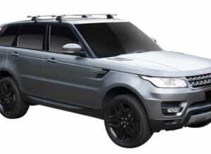 Whispbar Dakdragers (Black) Land Rover Range Rover Sport (2 Bar) 5dr SUV met Vaste bevestigingspunten bouwjaar 2013 - e.v.|Complete set dakdragers