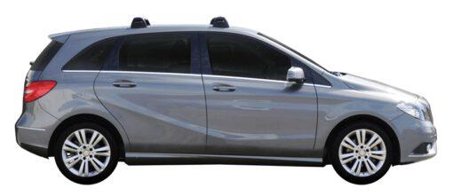 Whispbar Dakdragers (Black) Mercedes-Benz B-Class 5dr Hatch met Vaste bevestigingspunten bouwjaar 2015 - e.v.|Complete set dakdragers