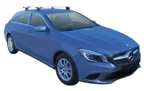 Whispbar Dakdragers (Black) Mercedes-Benz CLA Shooting Brake 5dr Estate met Vaste bevestigingspunten bouwjaar 2015 - e.v.|Complete set dakdragers