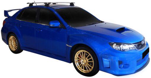 Whispbar Dakdragers (Black) Subaru WRX 4dr Sedan met Vaste bevestigingspunten bouwjaar 2011 - 2014|Complete set dakdragers