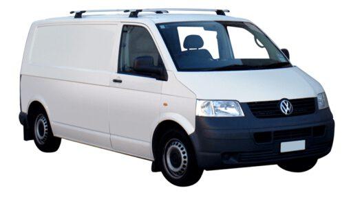 Whispbar Dakdragers (Black) Volkswagen Multivan T6 4dr Van met Vaste bevestigingspunten bouwjaar 2015 - e.v.|Complete set dakdragers