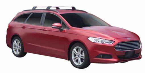Whispbar Dakdragers (Black) Ford Mondeo 5dr Estate met Geintegreerde rails bouwjaar 2014 - e.v. Complete set dakdragers
