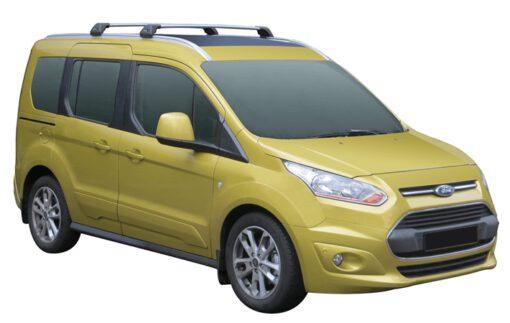 Whispbar Dakdragers (Zilver) Ford Tourneo Connect Connect 5dr Van met Geintegreerde rails bouwjaar 2014 - e.v. Complete set dakdragers