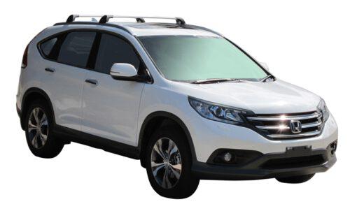 Whispbar Dakdragers (Zilver) Honda CR-V SR/EX 5dr SUV met Geintegreerde rails bouwjaar 2012 - 2015|Complete set dakdragers