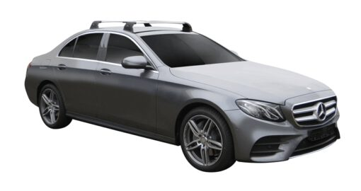 Whispbar Dakdragers (Black) Mercedes-Benz E-Class W213 4dr Sedan met Vaste bevestigingspunten bouwjaar 2016 - e.v.|Complete set dakdragers