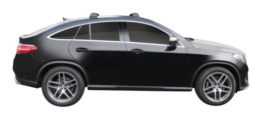 Whispbar Dakdragers (Black) Mercedes-Benz GLE 5dr Coupe met Vaste bevestigingspunten bouwjaar 2015 - e.v.|Complete set dakdragers
