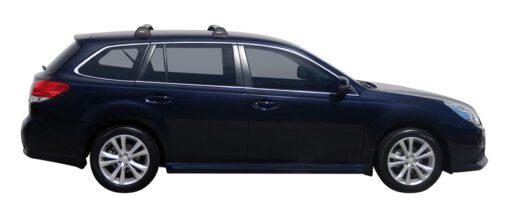 Whispbar Dakdragers (Black) Subaru Legacy 5dr Estate met Vaste bevestigingspunten bouwjaar 2013 - e.v.|Complete set dakdragers