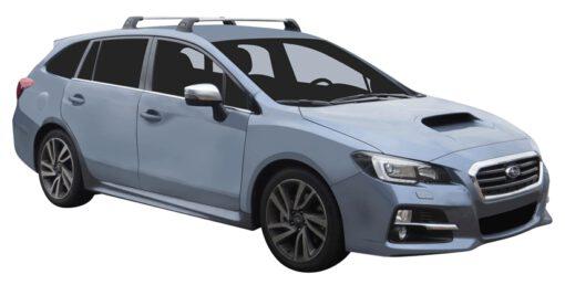 Whispbar Dakdragers (Black) Subaru Levorg 5dr Estate met Vaste bevestigingspunten bouwjaar 2015 - e.v.|Complete set dakdragers