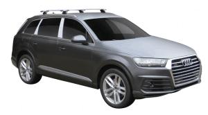 Whispbar Dakdragers (Silver) Audi Q7/SQ7 5dr SUV met Vaste bevestigingspunten bouwjaar 2015 - e.v.|Complete set dakdragers