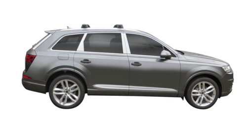 Whispbar Dakdragers (Silver) Audi Q7/SQ7 5dr SUV met Vaste bevestigingspunten bouwjaar 2015 - e.v. Complete set dakdragers