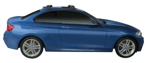 Whispbar Dakdragers (Silver) BMW 2 Series F22 2dr Coupe met Vaste bevestigingspunten bouwjaar 2014 - e.v.|Complete set dakdragers