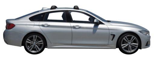 Whispbar Dakdragers (Silver) BMW 4 Series Gran Coupe 4dr Coupe met Vaste bevestigingspunten bouwjaar 2014 - 2017 Complete set dakdragers
