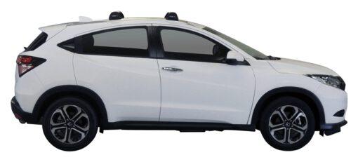 Whispbar Dakdragers (Silver) Honda HR-V 5dr SUV met Vaste bevestigingspunten bouwjaar 2015 - e.v. Complete set dakdragers