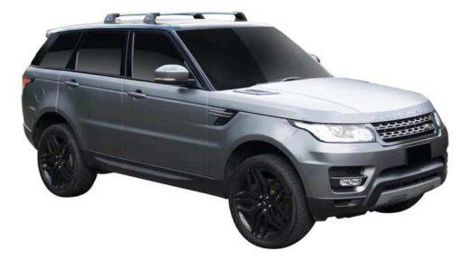 Whispbar Dakdragers (Silver) Land Rover Range Rover Sport (2 Bar) 5dr SUV met Vaste bevestigingspunten bouwjaar 2013 - e.v. Complete set dakdragers