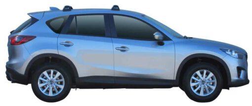 Whispbar Dakdragers (Silver) Mazda CX-5 5dr SUV met Vaste bevestigingspunten bouwjaar 2012 - 2017|Complete set dakdragers