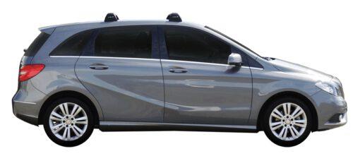 Whispbar Dakdragers (Silver) Mercedes-Benz B-Class 5dr Hatch met Vaste bevestigingspunten bouwjaar 2015 - e.v.|Complete set dakdragers