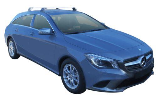 Whispbar Dakdragers (Silver) Mercedes-Benz CLA Shooting Brake 5dr Estate met Vaste bevestigingspunten bouwjaar 2015 - e.v. Complete set dakdragers