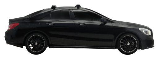 Whispbar Dakdragers (Silver) Mercedes-Benz CLA 4dr Coupe met Vaste bevestigingspunten bouwjaar 2013 - e.v.|Complete set dakdragers