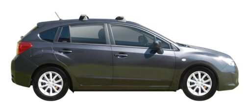 Whispbar Dakdragers (Silver) Subaru Impreza 5dr Hatch met Vaste bevestigingspunten bouwjaar 2014 - 2017|Complete set dakdragers
